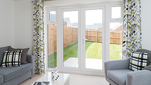 uPVC French Doors in the East Midlands, UK